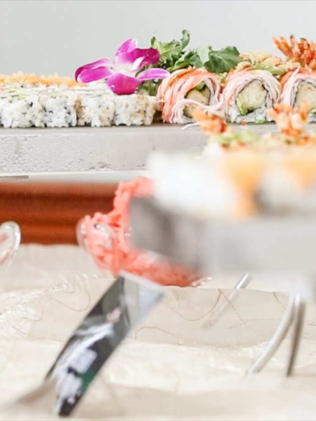 Sushi 2 at the Cheseapeak Inn on CateringStone, Photography by Lenny